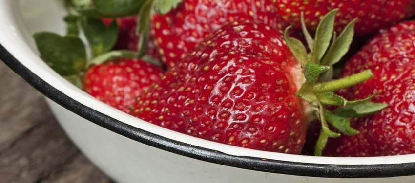 jordbær nød
